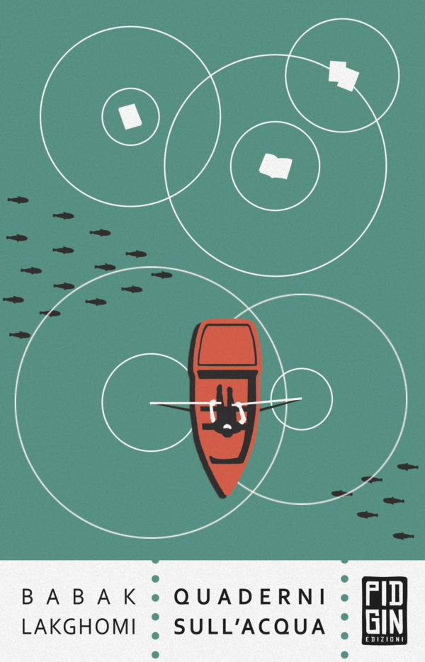 copertina Quaderni sull'acqua - Babak Lakghomi
