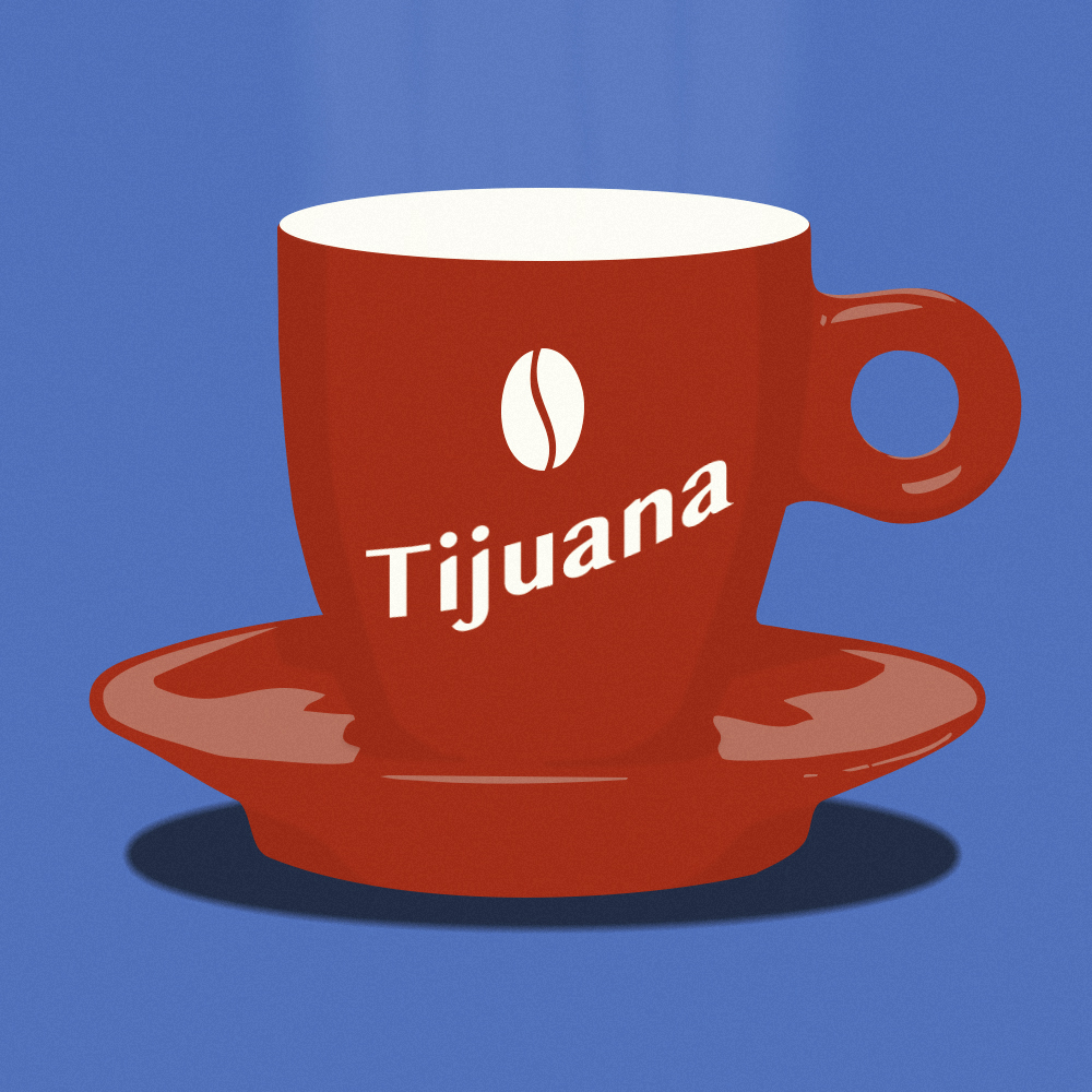 tazzina caffè Tijuana pidgin edizioni
