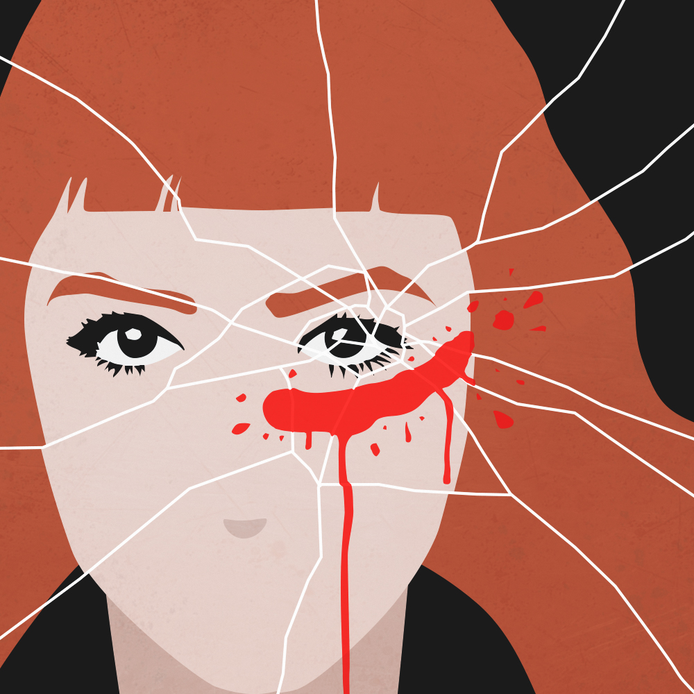 illustrazione Ma tu non la senti - Francesca Mattei - SPLIT - Pidgin Edizioni