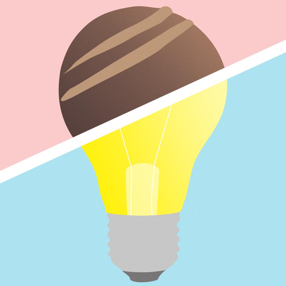 illustrazione lampadine federica brunelli split pidgin edizioni